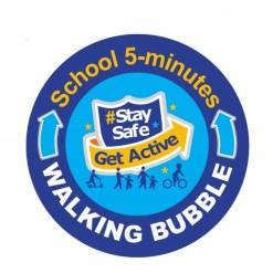 Our school walking bubble