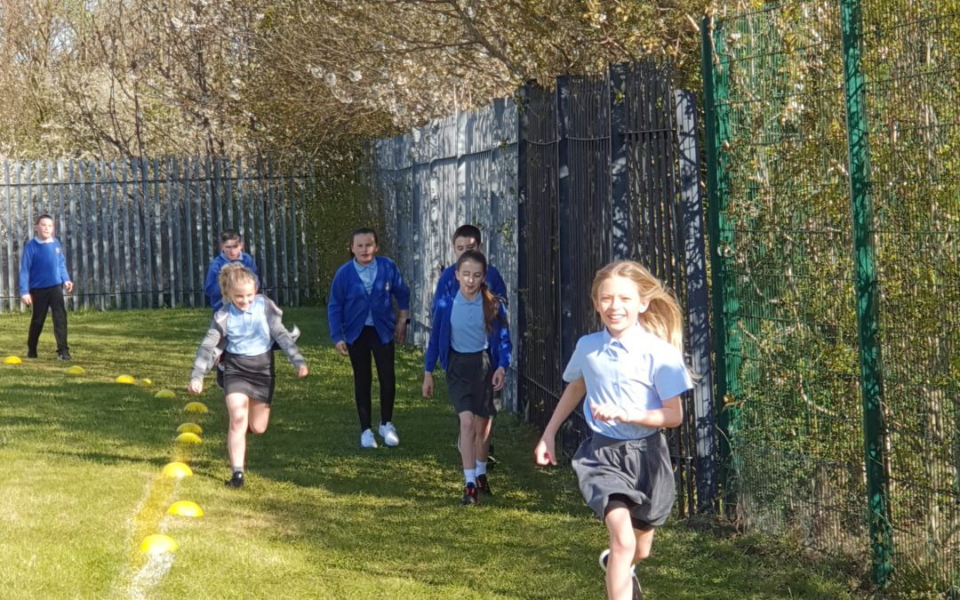 Year 5's Active Start to the Day