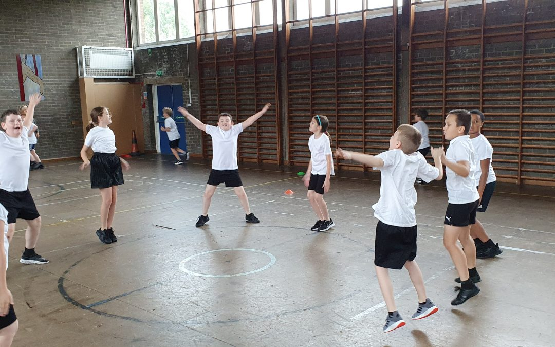 Getting Fit in Year 5!
